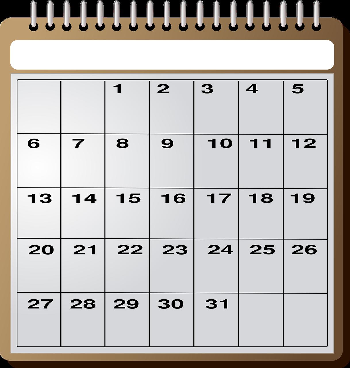 1月の出張鑑定予約カレンダーを公開しました